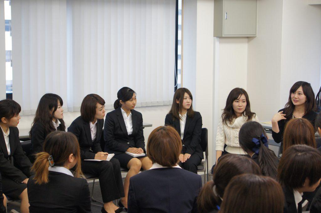就活メイク 座談会2