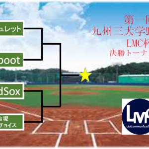 九州三大学野球大会「LMC杯」決勝トーナメント対戦表