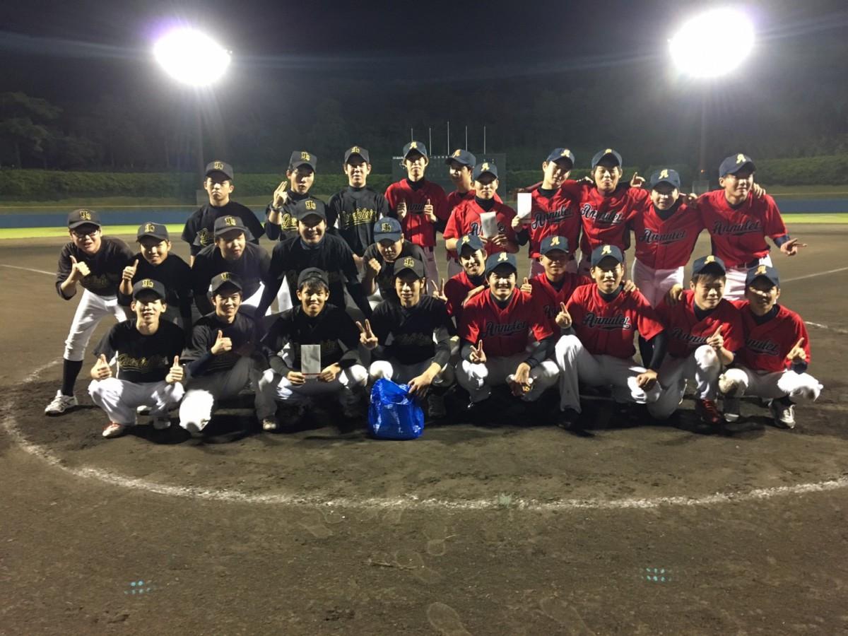 第一回 九州三大学野球大会 決勝 アニュレット VS 吉塚グッチョイス